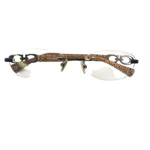 Coach 9071 Dark Brown Tortoise Eyeglass Frames